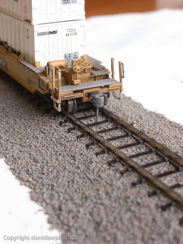 Ballasted with no weathering - Unitrack