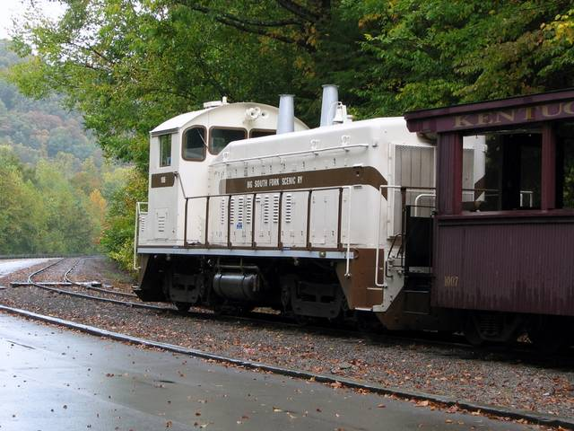 Big South Fork Railway Museum #106