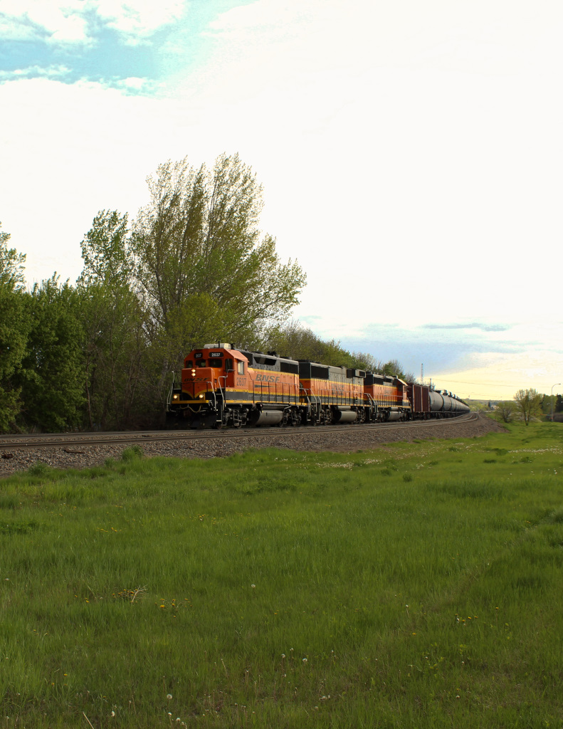 BNSF 2637 West 14 May 16 (1 Of 1)