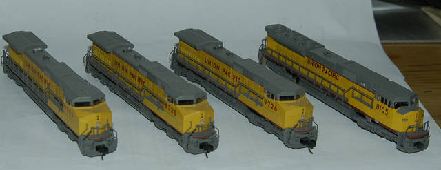 C44-9W SD90MAC Kato n Scale locomotive Union Pacific