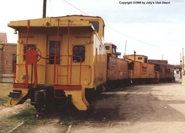 Caboose found at Ogden Union Station