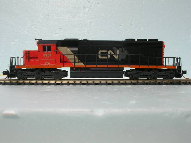 Canadian National SD40-2 ex GTW