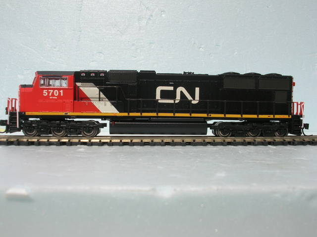 Canadian National SD70i