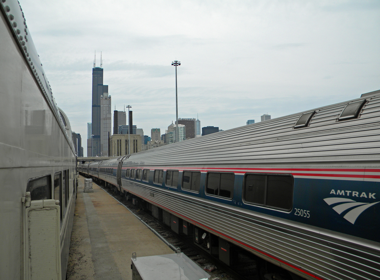 Chicago Amtrak Coach Yard
