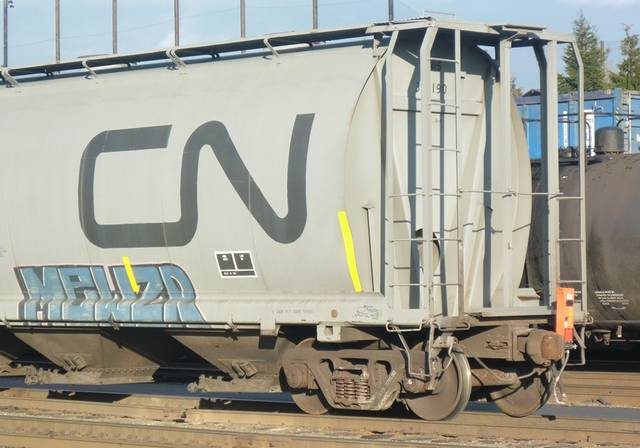 CN Hopper with ETD