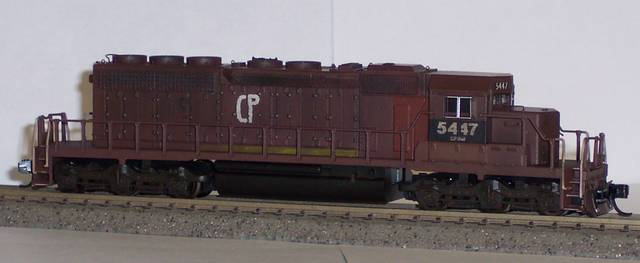 Topping this off is a set of mt couplers the decals are all made on an alps printer cp 5447 n scale custom paint