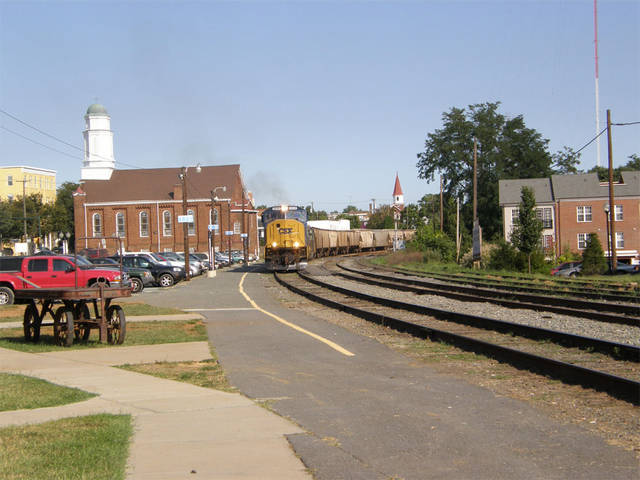 CSX at charlotesville VA.