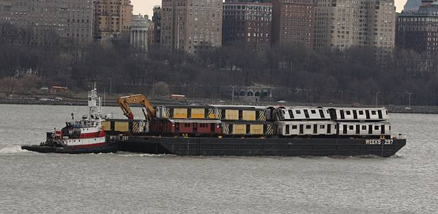 Decommissioned New York City Subway Cars Heading to Become Artificial Reefs