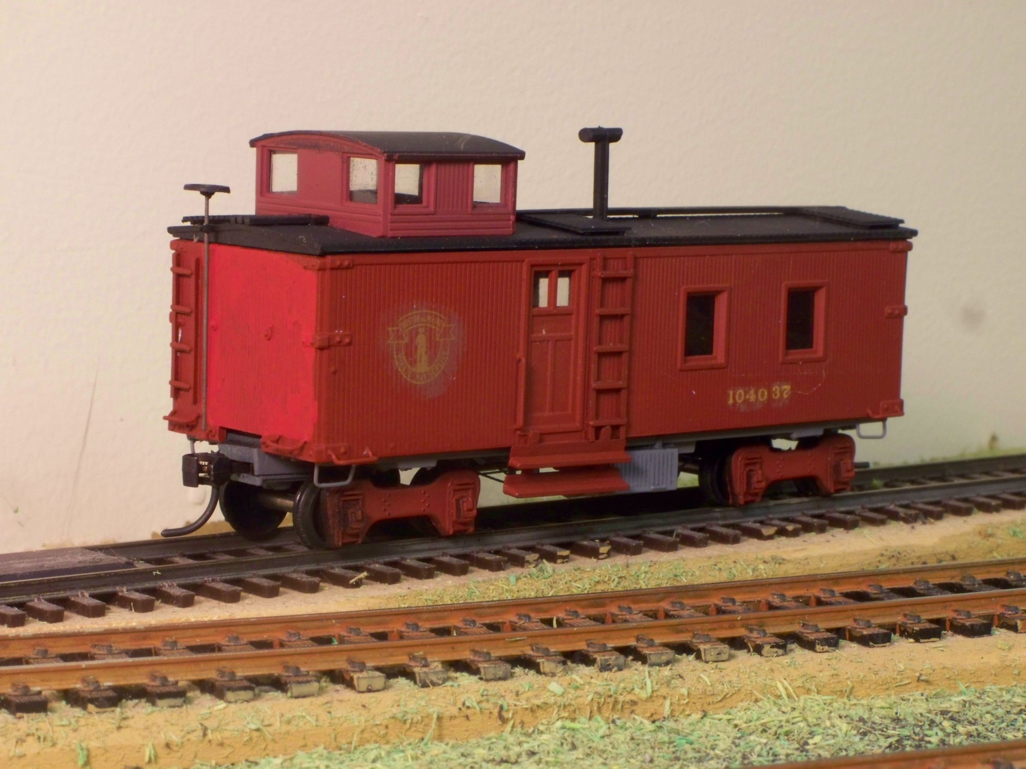 Drover's caboose, does express on the side