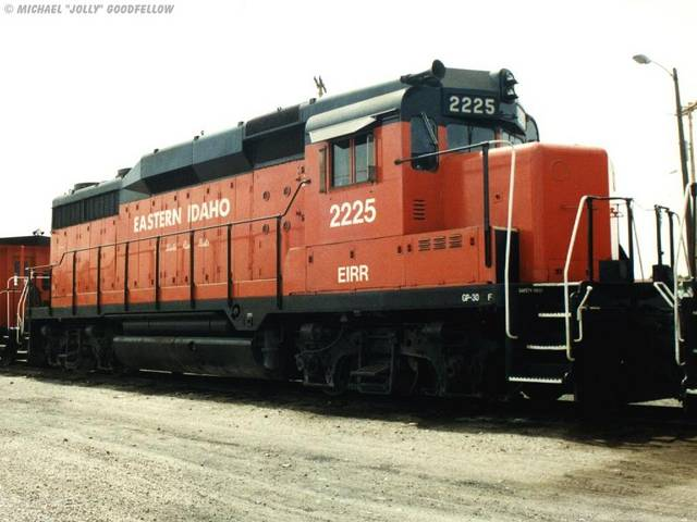 Eastern Idaho Railroad GP30