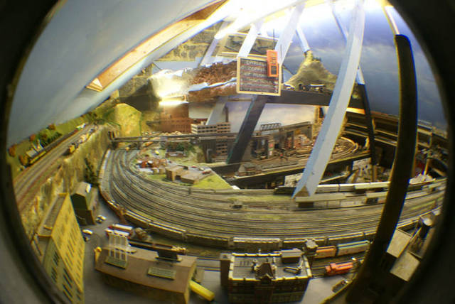 Fisheye 2,Somewhere West N scale