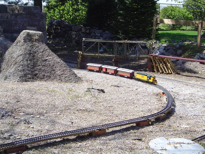 G Scale at Rockome Gardens.