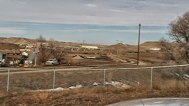 Glendive new 2 PIC 1844. New sidings for oilfield chemical plant.