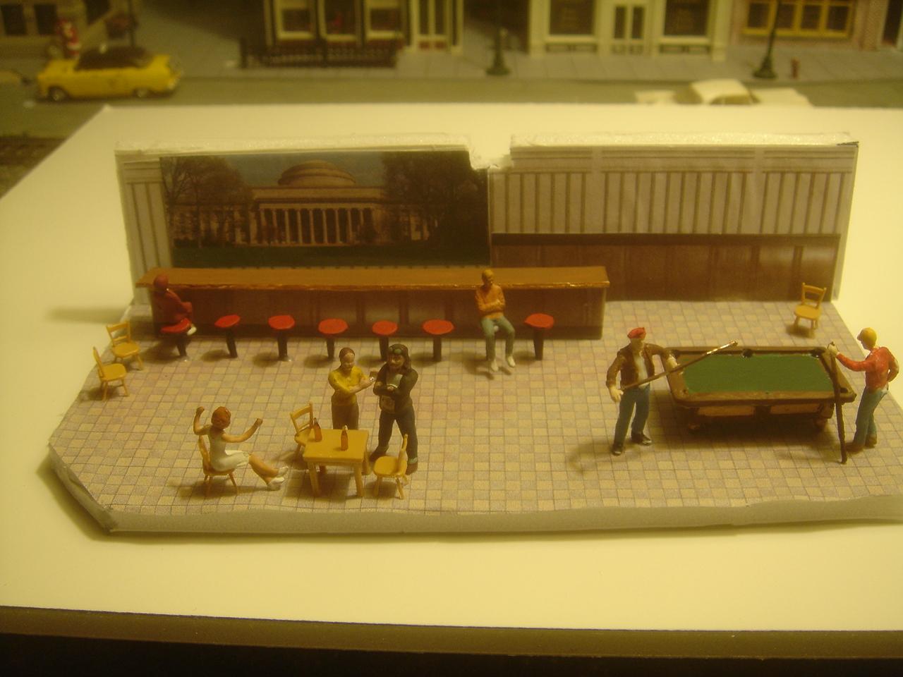 Where can i get interior flooring model railroader - Printable ho scale building interiors ...
