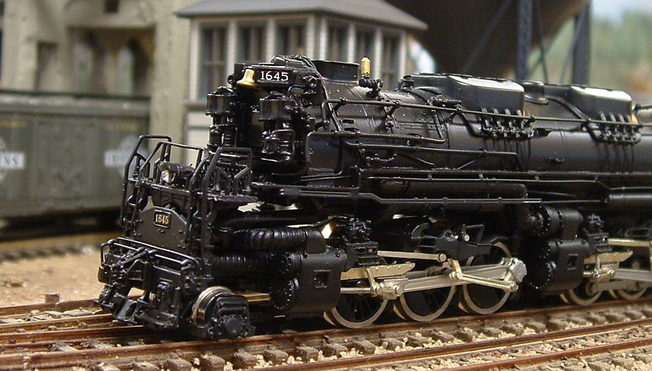 Key N scale Allegheny