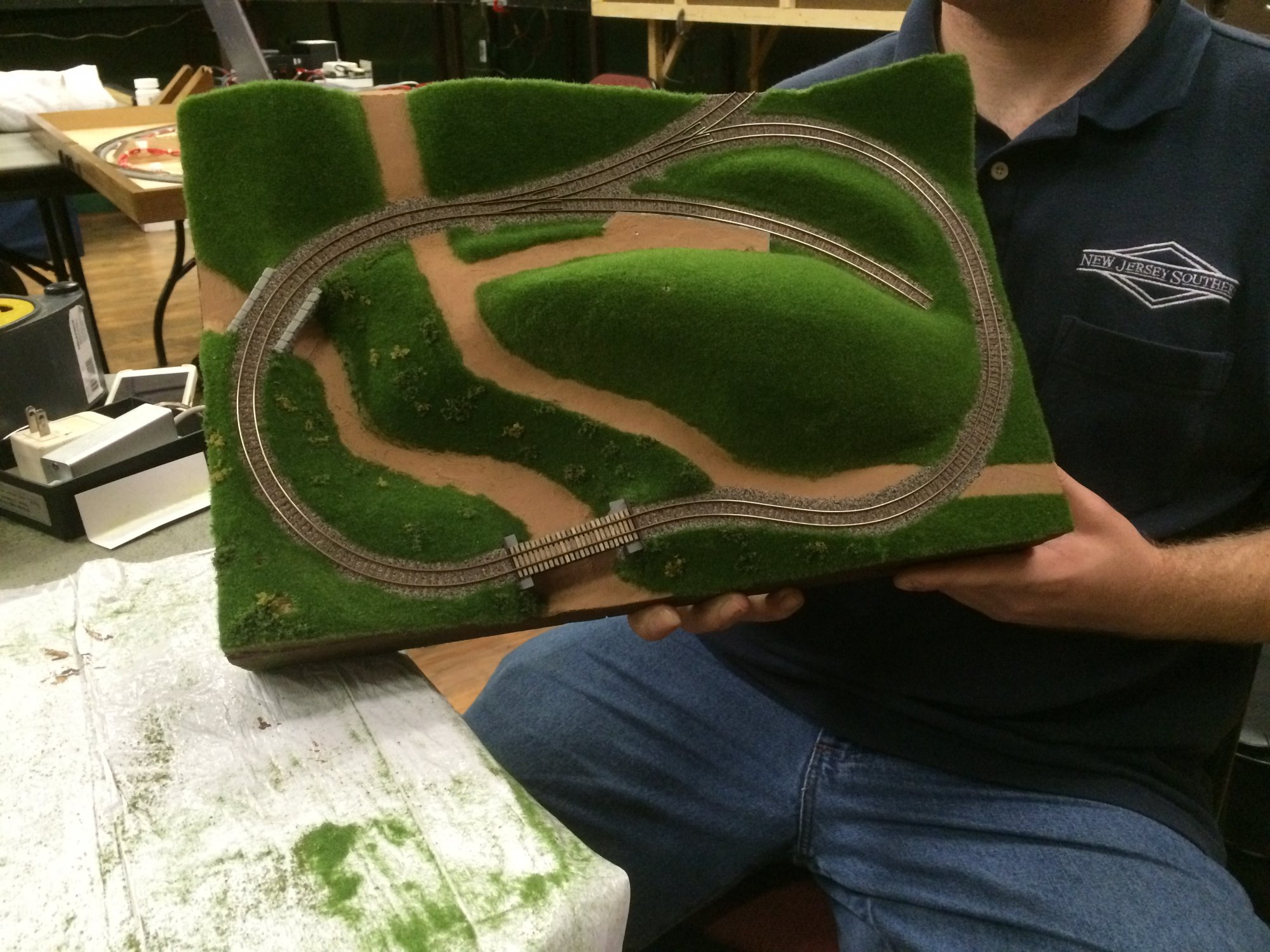 Will any small layout owners please stand up? | Model