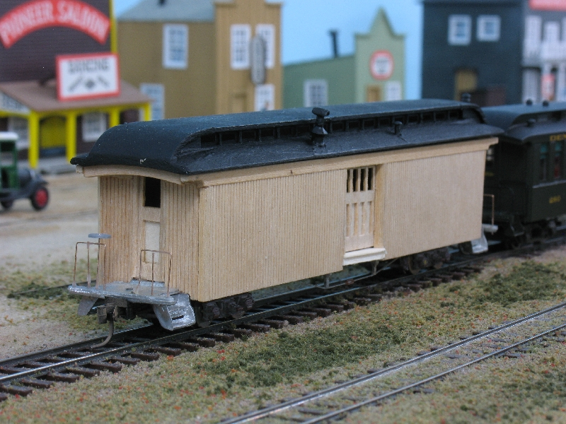 LaBelle baggage car