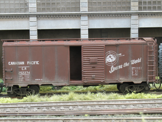 late 1940s freight cars