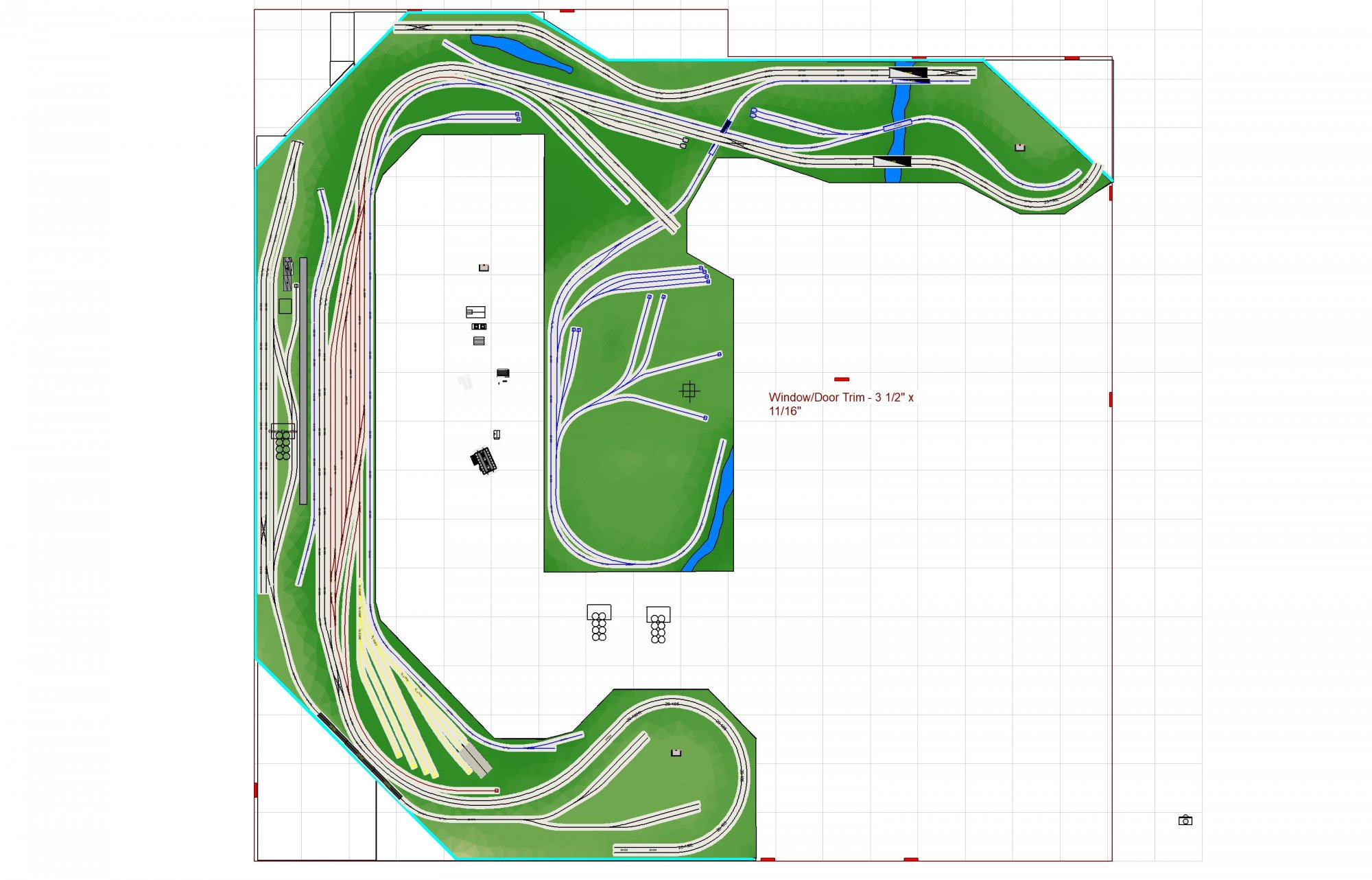 Layout 15-1 Wider Peninsula 3200 With Water Tunnels Hidden