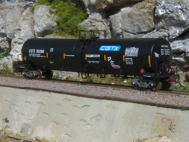 Maiden voyage from the factory and already tagged!