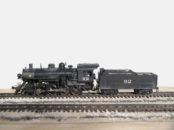 Missouri Pacific 2-8-0 Consolidation #92