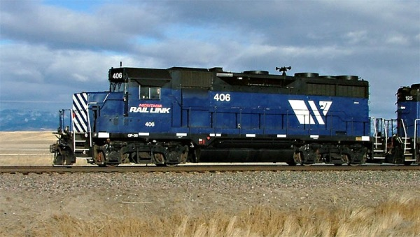 MRL 406 north of Townsend, MT