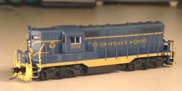 N Scale Atlas GP-7
