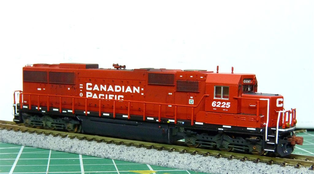 N Scale SD60 CP #6225 Digitrax SDN144A1 sound