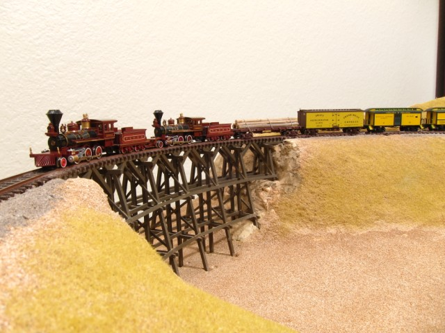 N Scale V&T Trestle