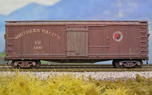 Northern Pacific 14000 Series Boxcar