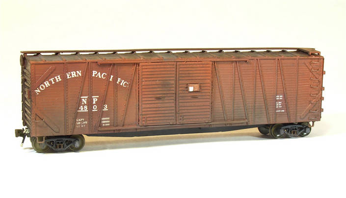 Northern Pacific Automobile Boxcar #4803
