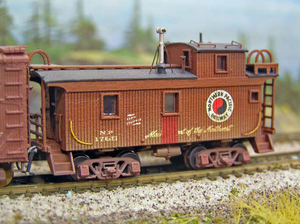 Northern Pacific Caboose #1765