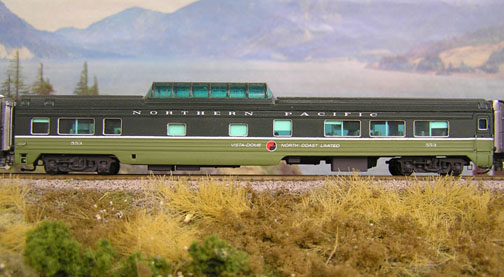 Northern Pacific Dome Coach