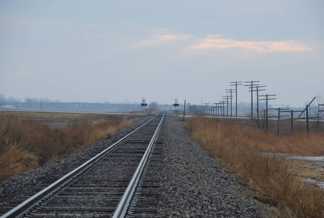 NS looking south from Mansfield IL