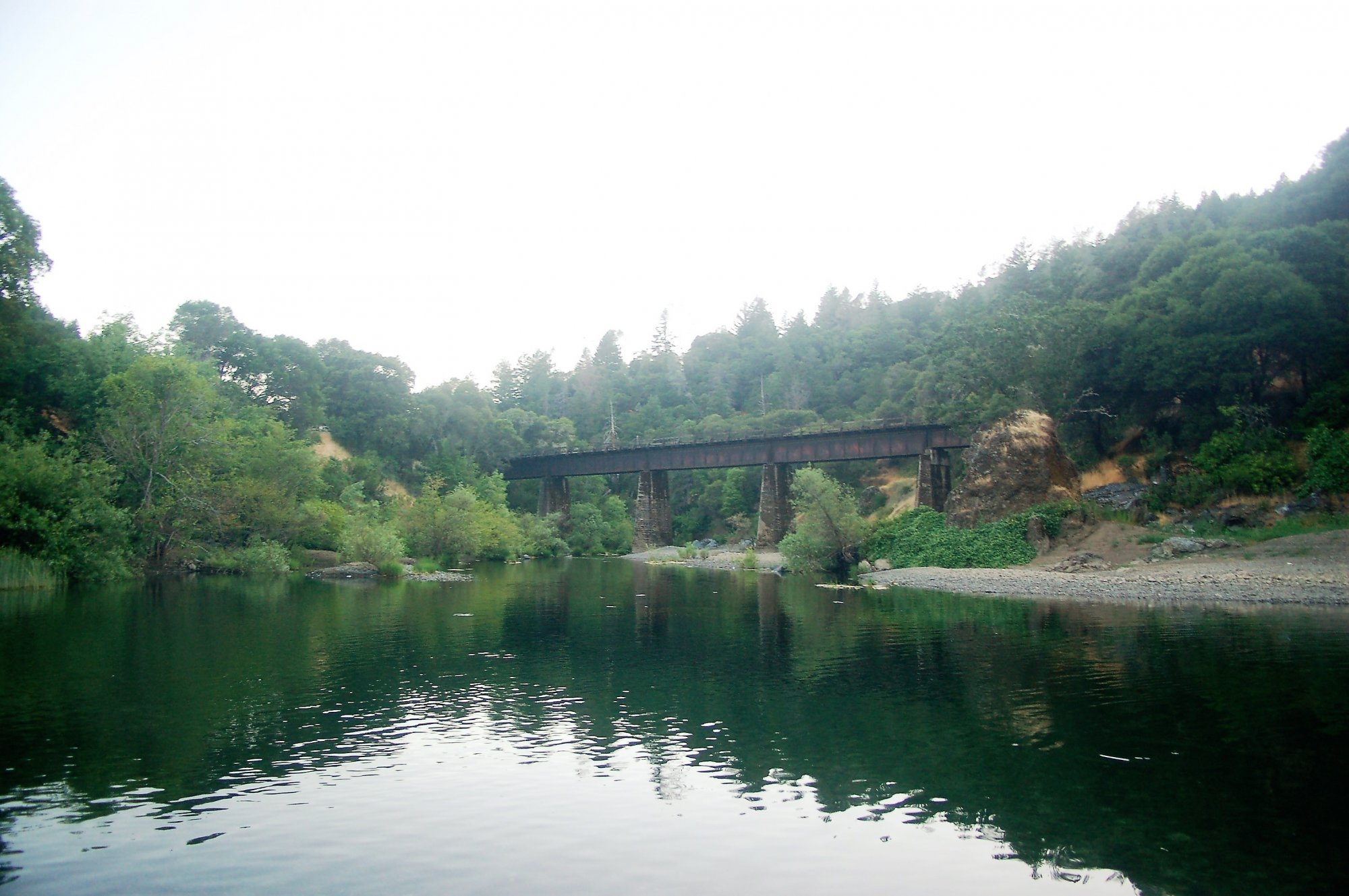 NWP enters the EEL River