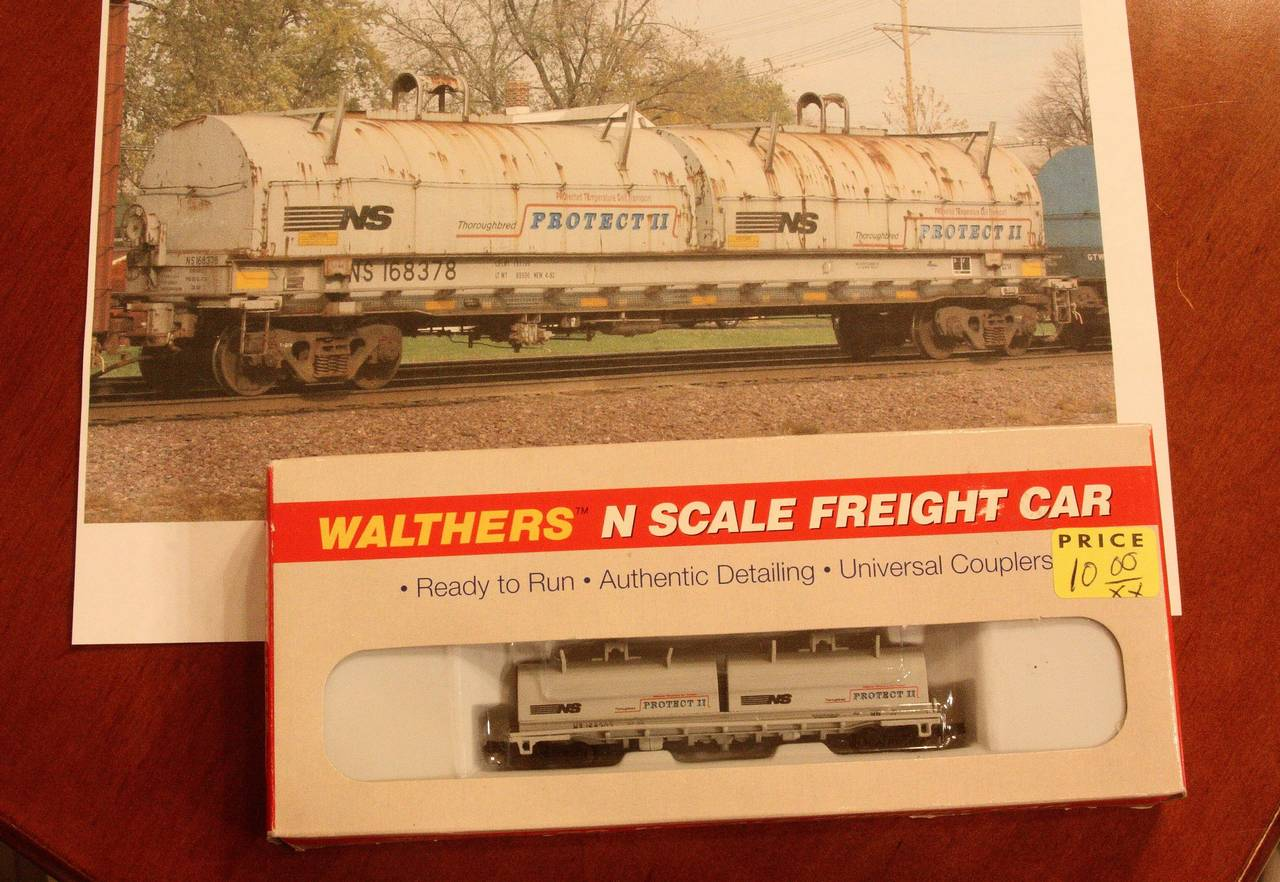 Old Wathers NS Coil Car and Full Scall Photo