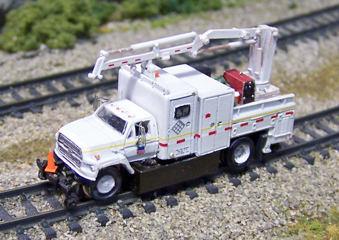 Operating N Scale MOW Truck (Finished)