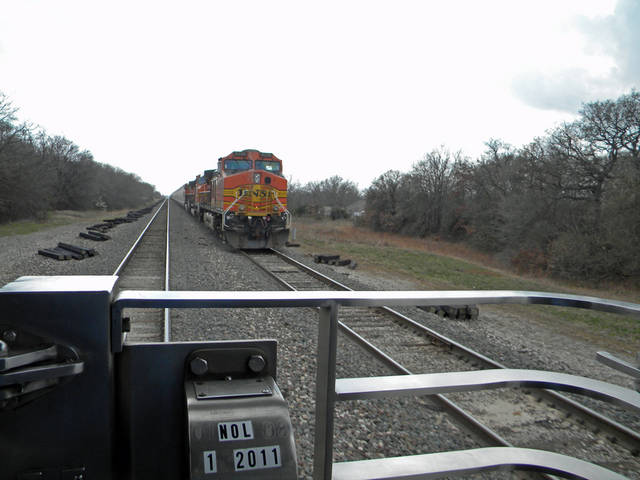 Passing a Freight