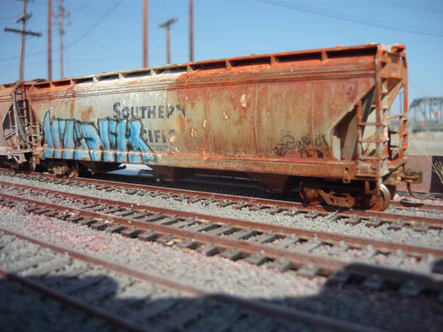 PASTOOKA hand painted  rolling stock