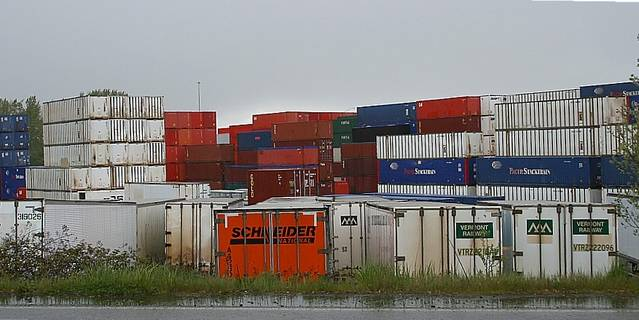 Portland container yard