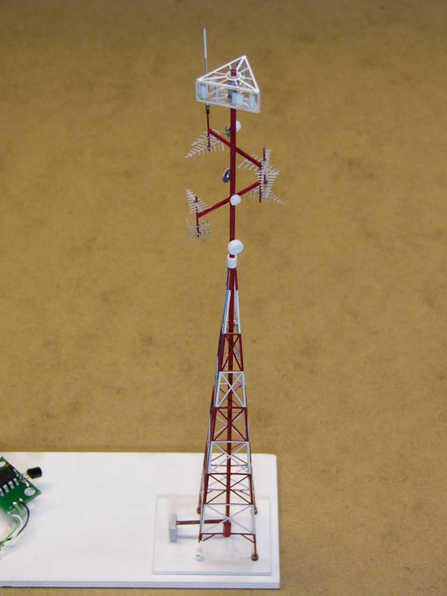 Radio Tower with FO lighting