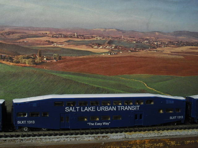 Salt Lake Urban Transit ~ N-Scale