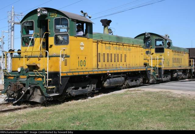Sand Springs RR switchers