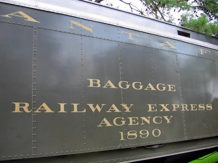 Santa Fe Baggage Car