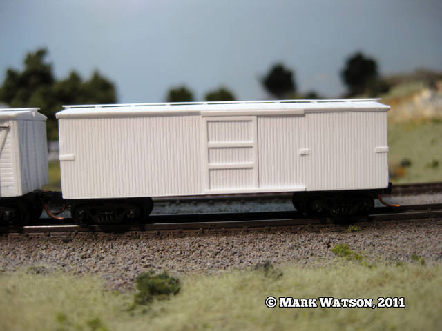 Scratchbuilding Virginia & Truckee Box Car #1011