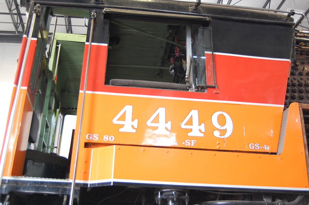 Southern Pacific 4449-undressed