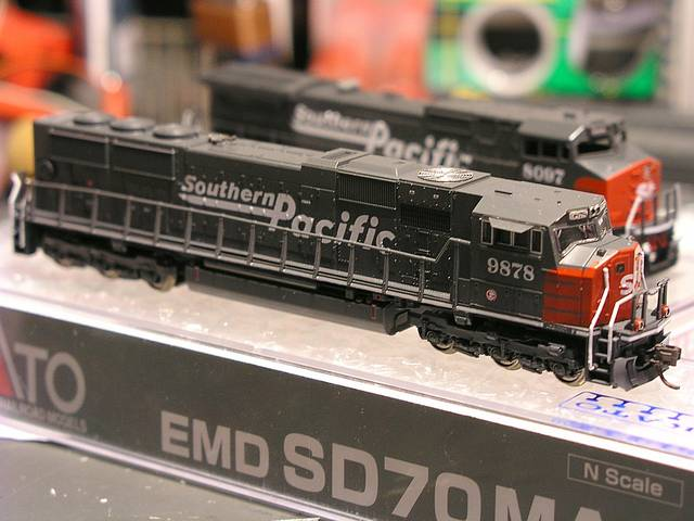 SP SD70MAC