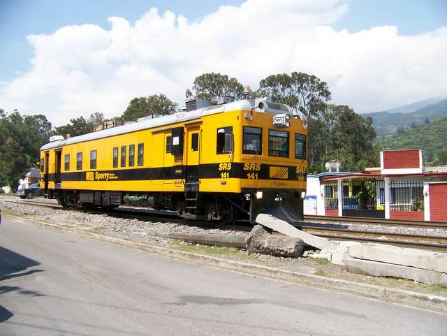 Sperry Rail Services detector car