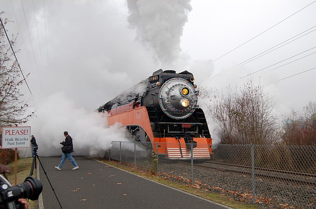Steam in winter