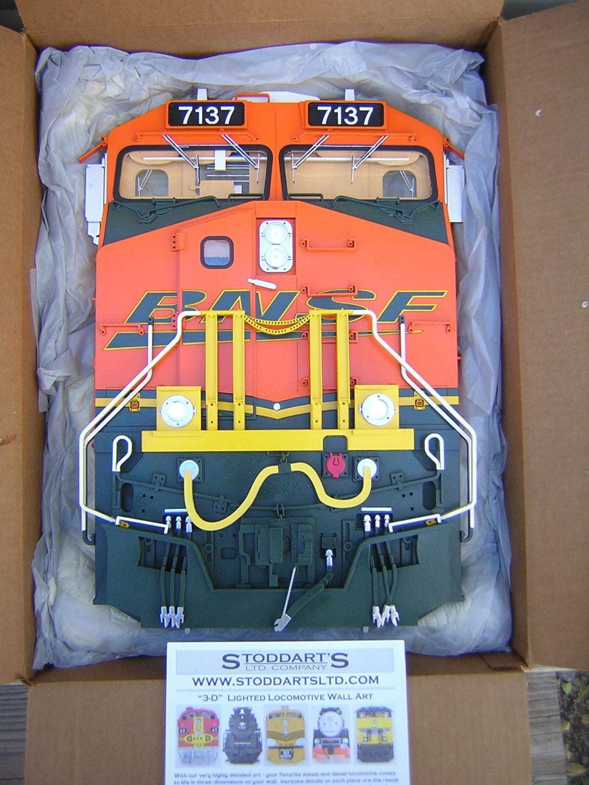 Stoddartsltd com BNSF ES44AC #1   TrainBoard com - The